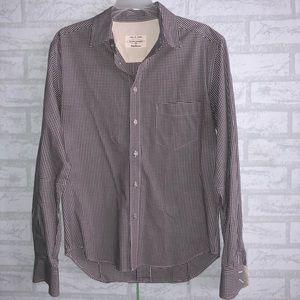 Men's Rag&bone pocket button down shirt sz M A3